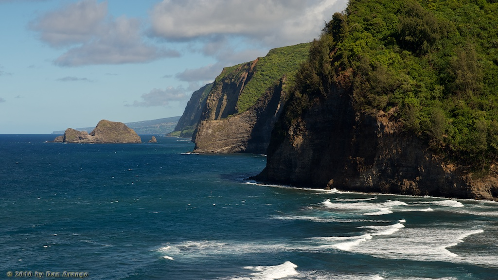 Overlooking Pololu Valley
