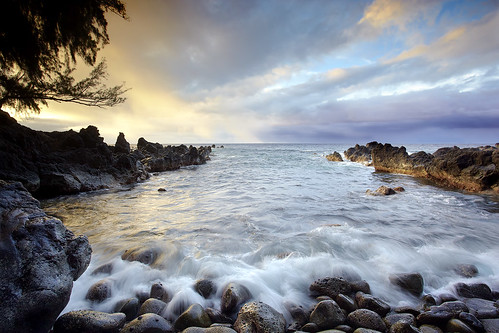sunset usa cloud seascape landscape hawaii lava... (Photo: PatrickSmithPhotography on Flickr)