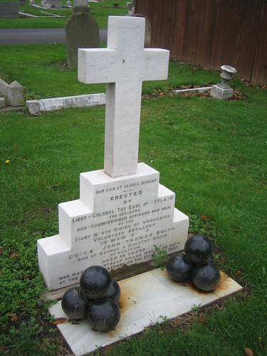 Gunner Smith, Redcar Cemetery