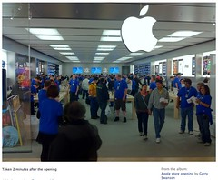 Apple Chinook Grand opening, Sept 29, 2010