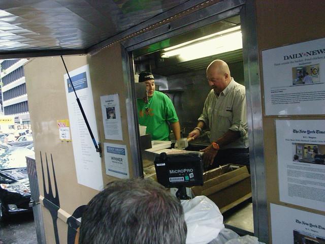 Andrew Zimmern visits Schnitzel Truck
