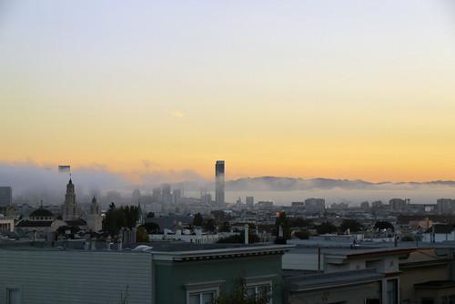 morning view of san francisco, 30 September 2010