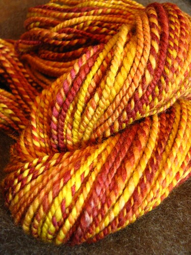 Marvelous Maples - Hand Spun Polwarth