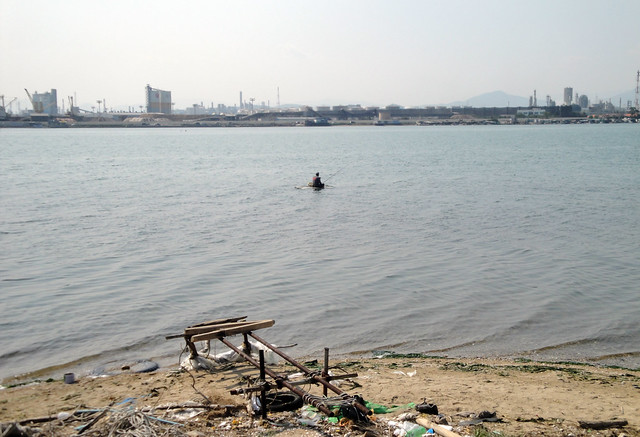 Fisherman in the Taehwa