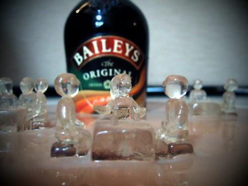 Baileys Bottle - Figure Detail