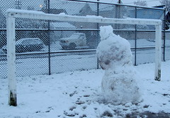 Snowman Goalie