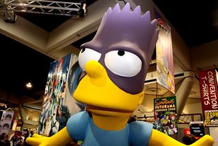 Bart Simpson statue