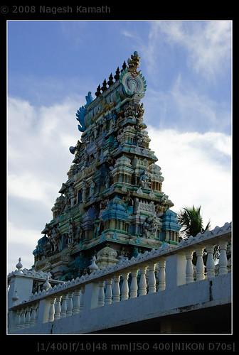 Amaranarayana Swamy temple Vimana | Kaivara