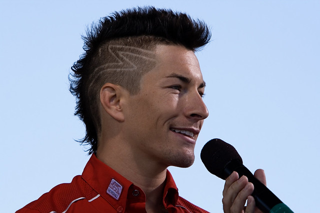 Nicky Hayden.  Three words:  OM NOM NOM.