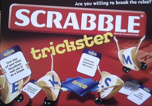 Scrabble Trickster - Boardgame Cover