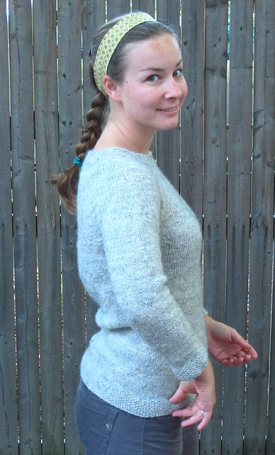 handspun sweater