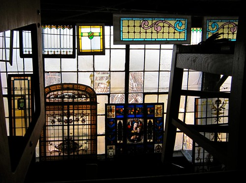 Saved Stained Glass