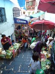Die ganze Stadt ist ein Markt, Taxco