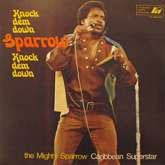 LP cover - Sparrow - Knock Dem Down