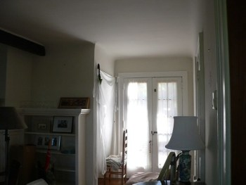 Right french doors