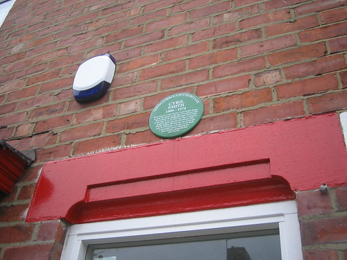Cyril Smith Plaque, Middlesbrough