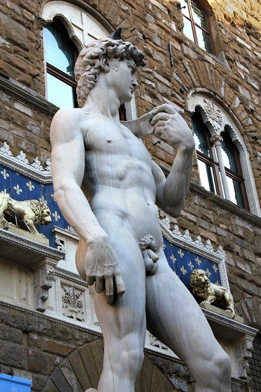 Michelangelo's famous David