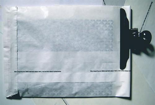 about, blocknotes, a cura di Federico Novaro, grafica di Stefano Olivari, packaging di Cristina Balbiano d'Aramengo, busta esterna (part.), 1