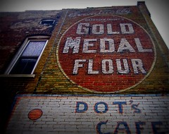 Gold Medal Flour at Dot's Cafe