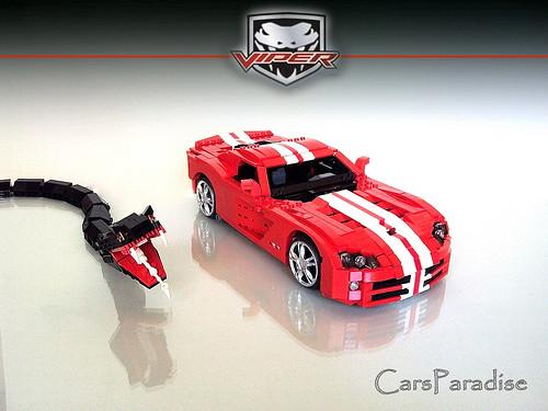 Dodge Viper SRT10 LEGO
