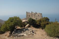 Naxos: Wehrturm in Pýrgos Agiá