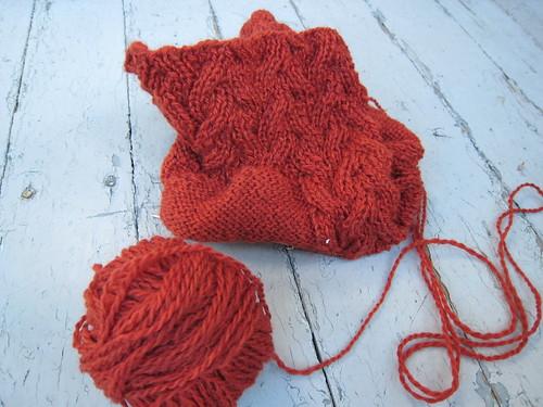 rosamund sweater in progress