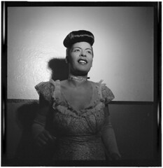 [Portrait of Billie Holiday, Carnegie Hall, Ne...