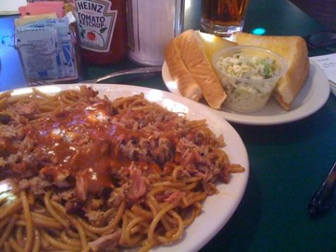 Barbecue Spaghetti from Bar-B-Q Shop