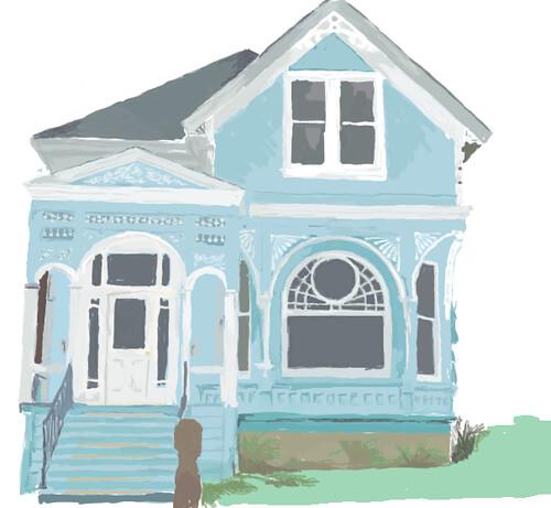 DrawingLife- House- Wednesday Week 7
