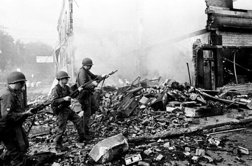 Jim Hubbord Detroit Riots 1967