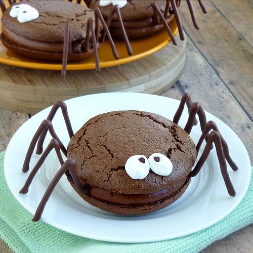 Halloween Spider Whoopie Pies
