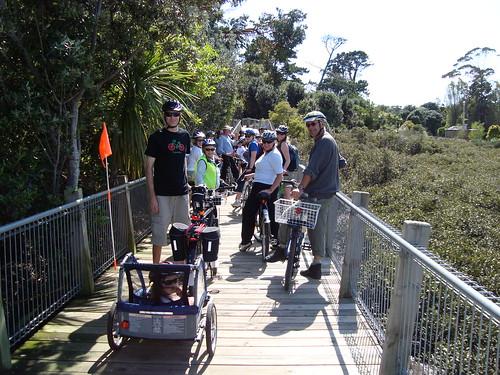 Happy Boardwalk Riders - Back
