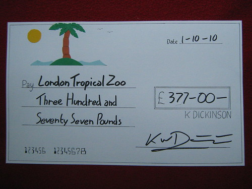 big comedy cheque