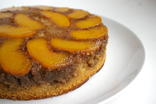 Peach Upside Down Cake II