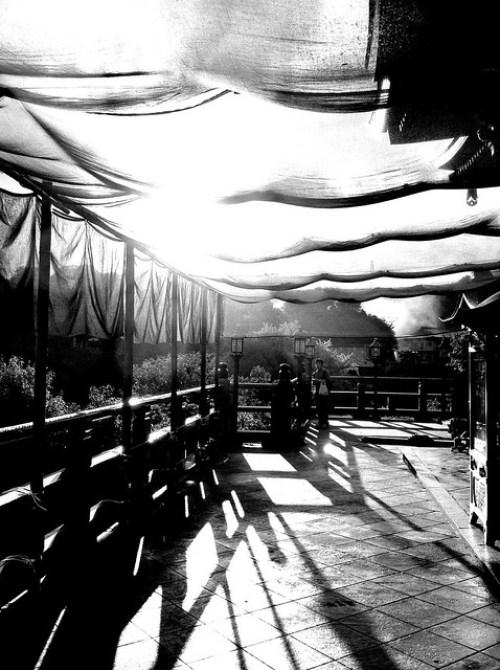 信貴山の夕陽