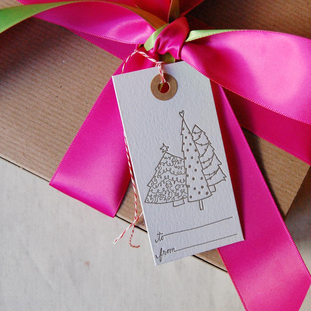 Christmas Tag   On Gift