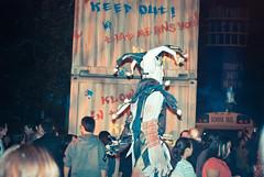Zombie on Stilts.