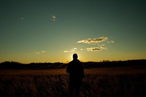 Self at Sunset