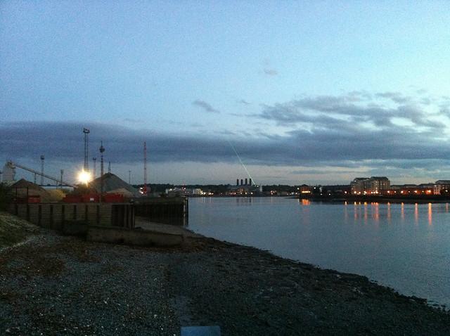 Thames Path, Greenwich