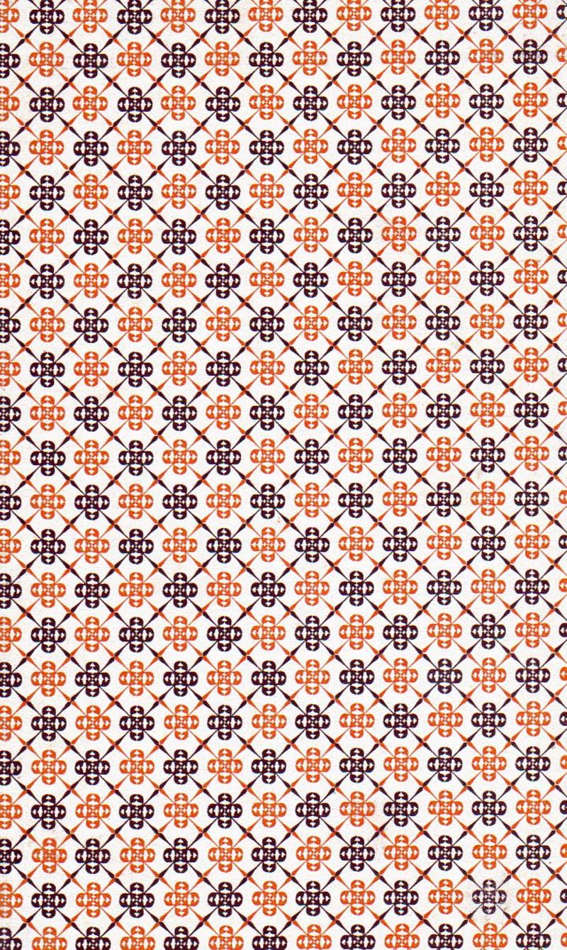 Bibliomania book cover pattern (1954)