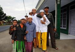 Muslim children Java