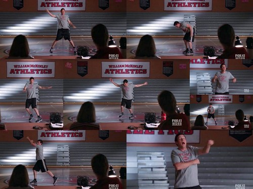 Glee之Finn跳舞