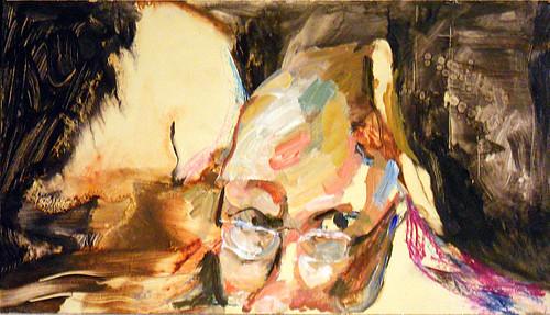Painting of Tom Bennett by Harry Bennett 10-02-10