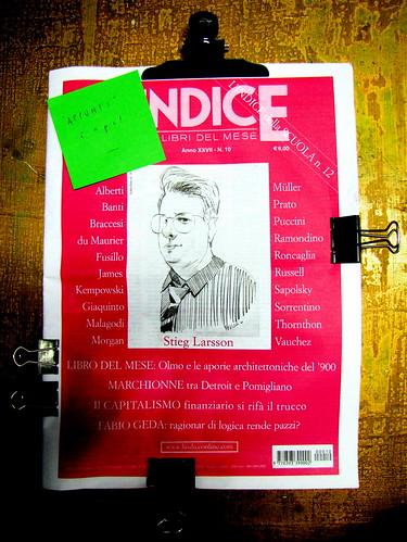 L'Indice, ottobre 2010, cop. (part.)