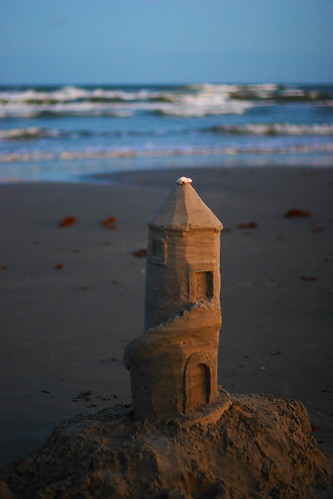 Lighthouse Sandcastle 2