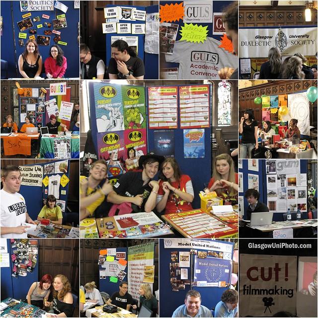Freshers' Week 2010: Freshers' Fair Stalls