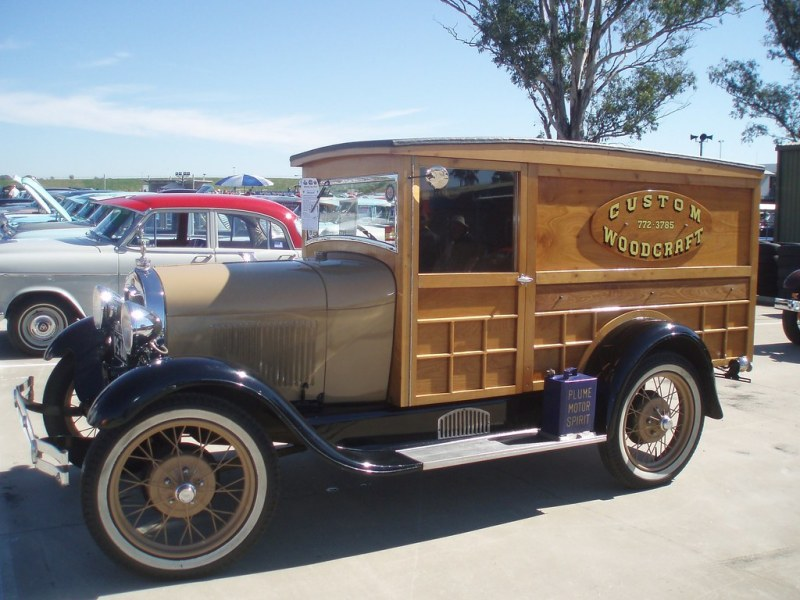 1974 ford cars » Blog Post   The Knotty History of the Woody Wagon   Car Talk 1929 Ford Model A panel van by sv1ambo  on Flickr