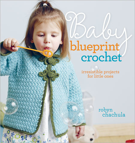 Baby Blueprint Crochet Cover