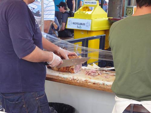 Norton Street Italian Festa: Porchetta (suckling pig)