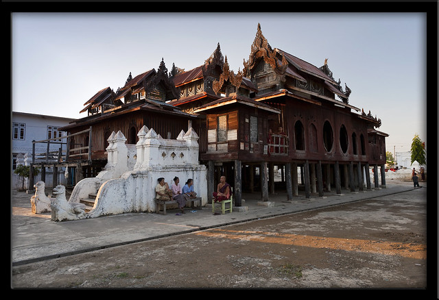 The wooden monastery